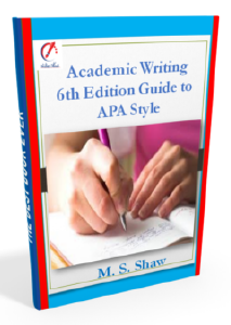 Academic Writing 6th Edition Guide to APA Style